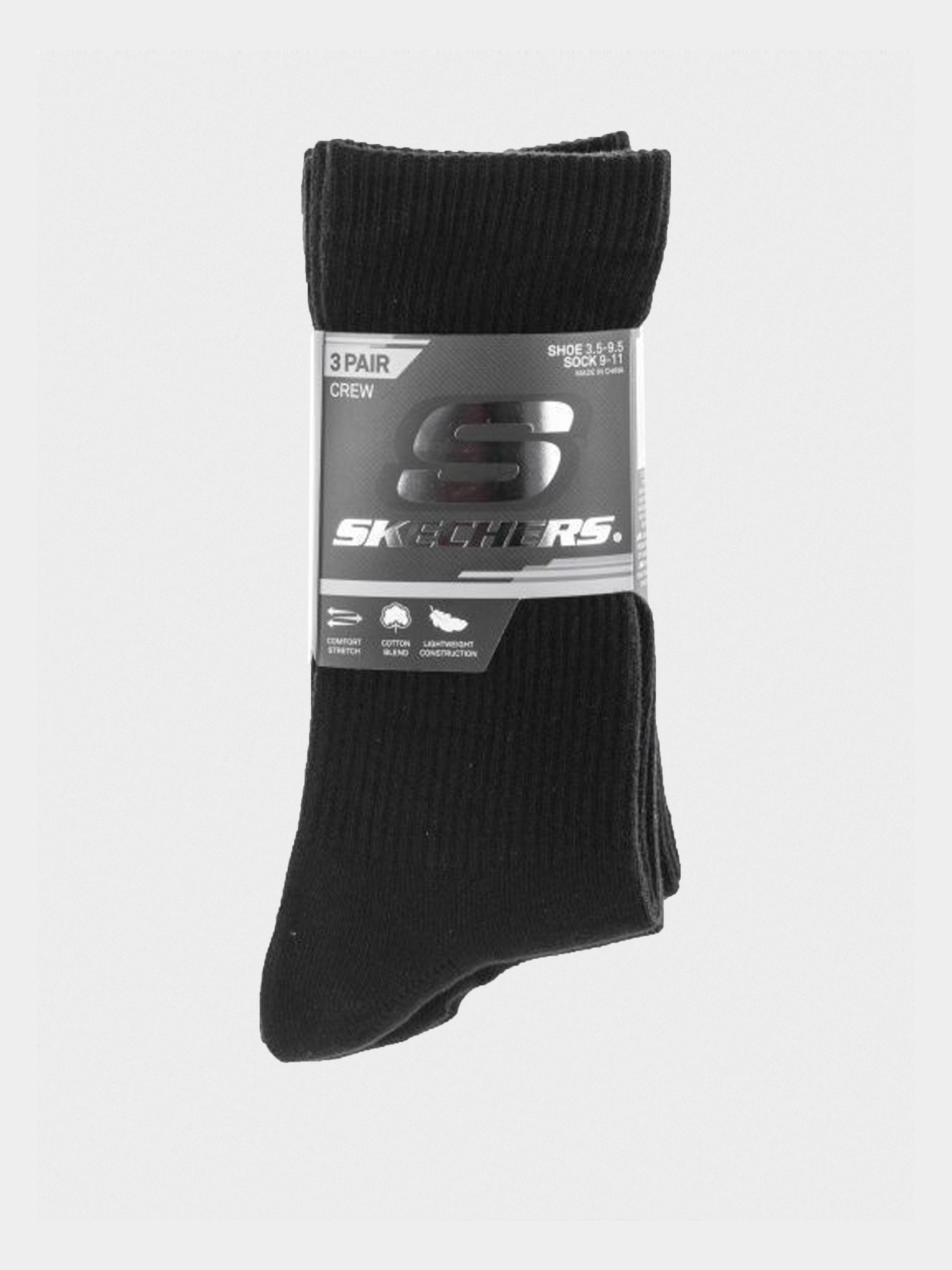 Купить Носки женские модель 9C131, Skechers, Черный