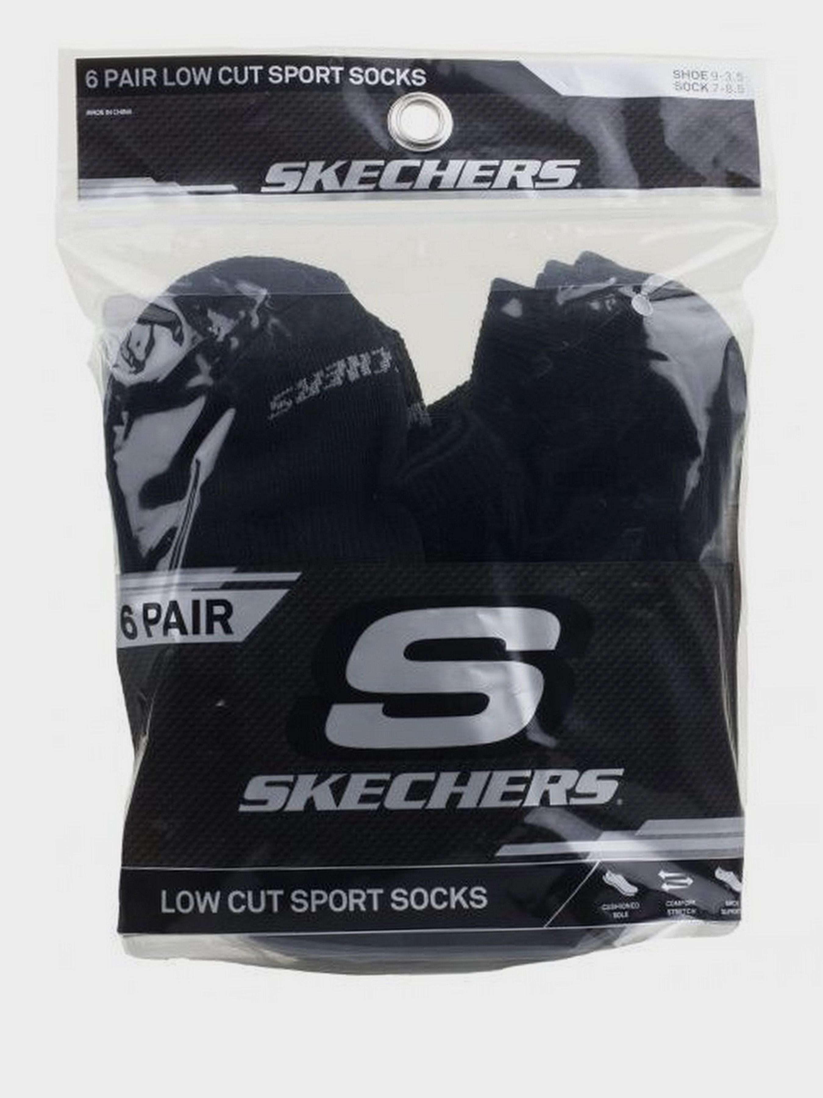 Купить Носки детские модель 9C49, Skechers, Черный