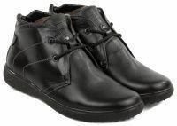 Черные мужские ботинки качество, 2017