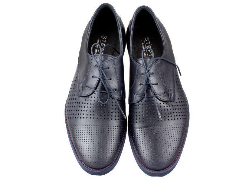 Полуботинки для мужчин Стептер 9L12 брендовая обувь, 2017