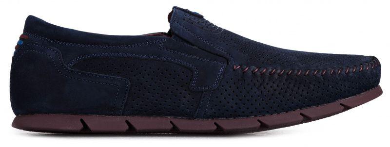 Купить Мокасины мужские Davis dynamic shoes 9O51, Синий