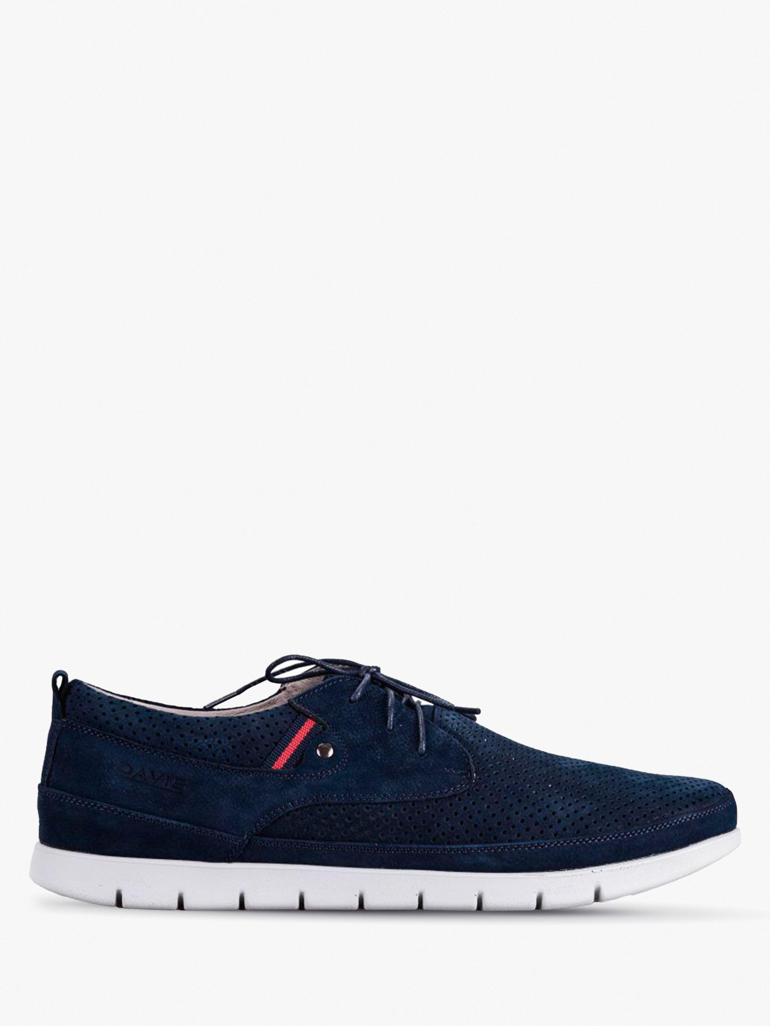 Купить Полуботинки мужские Davis dynamic shoes 9O57, Синий