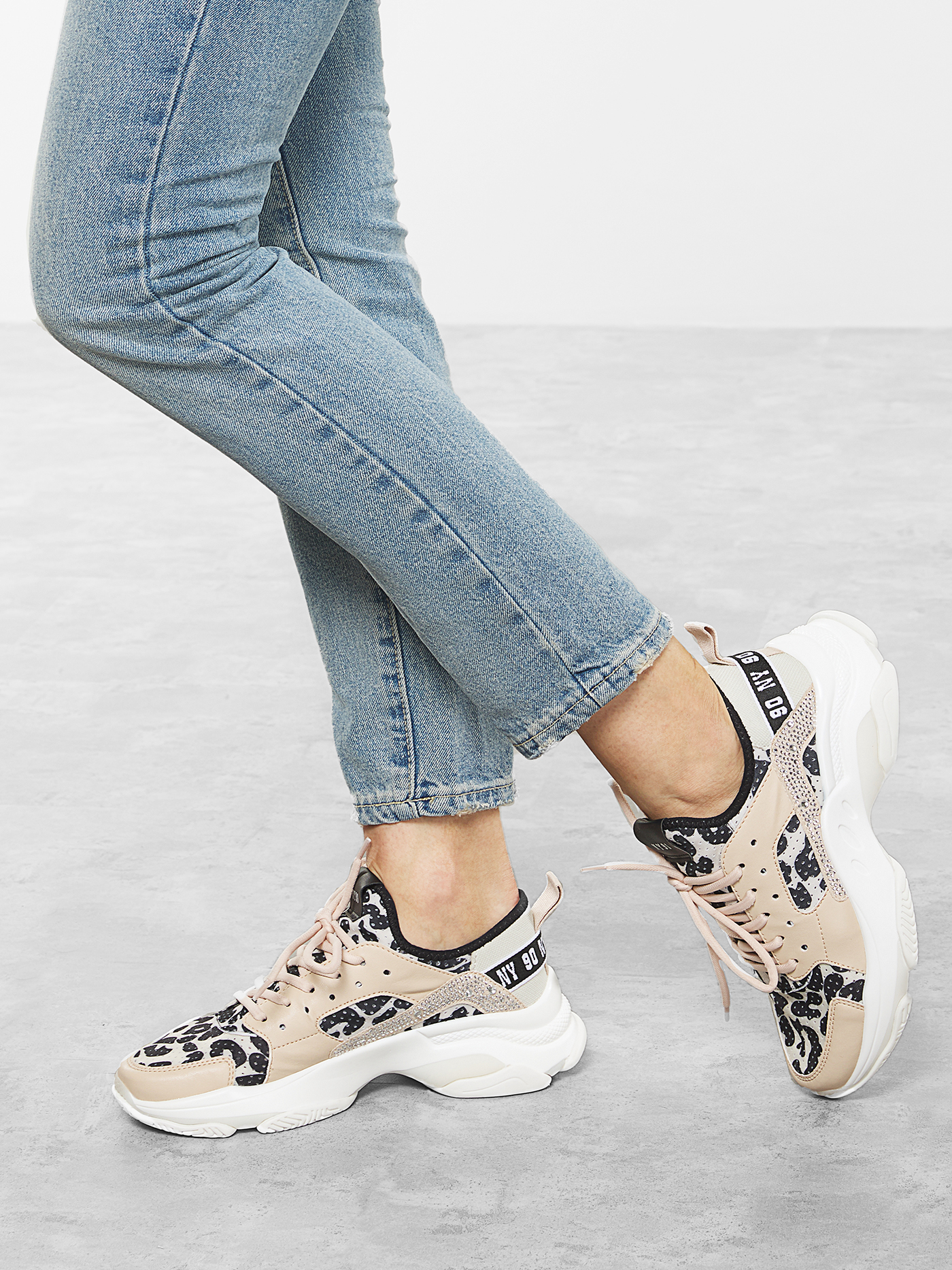Кросівки  жіночі Steve Madden AJAX SM11000586 BEIGE MULTI купити в Iнтертоп, 2017