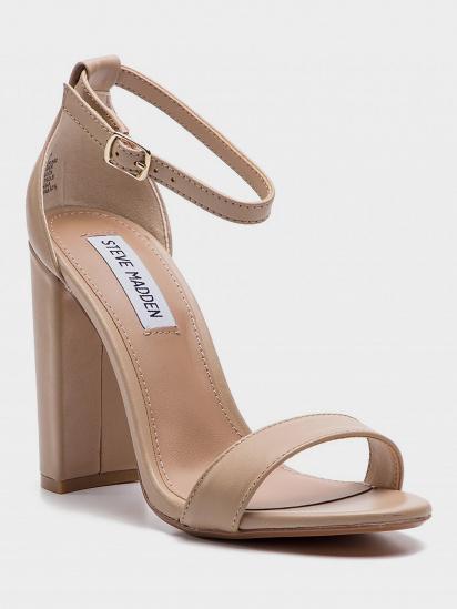 Босоніжки  жіночі Steve Madden CARRSON SM11000008 BLUSH LEATHER взуття бренду, 2017