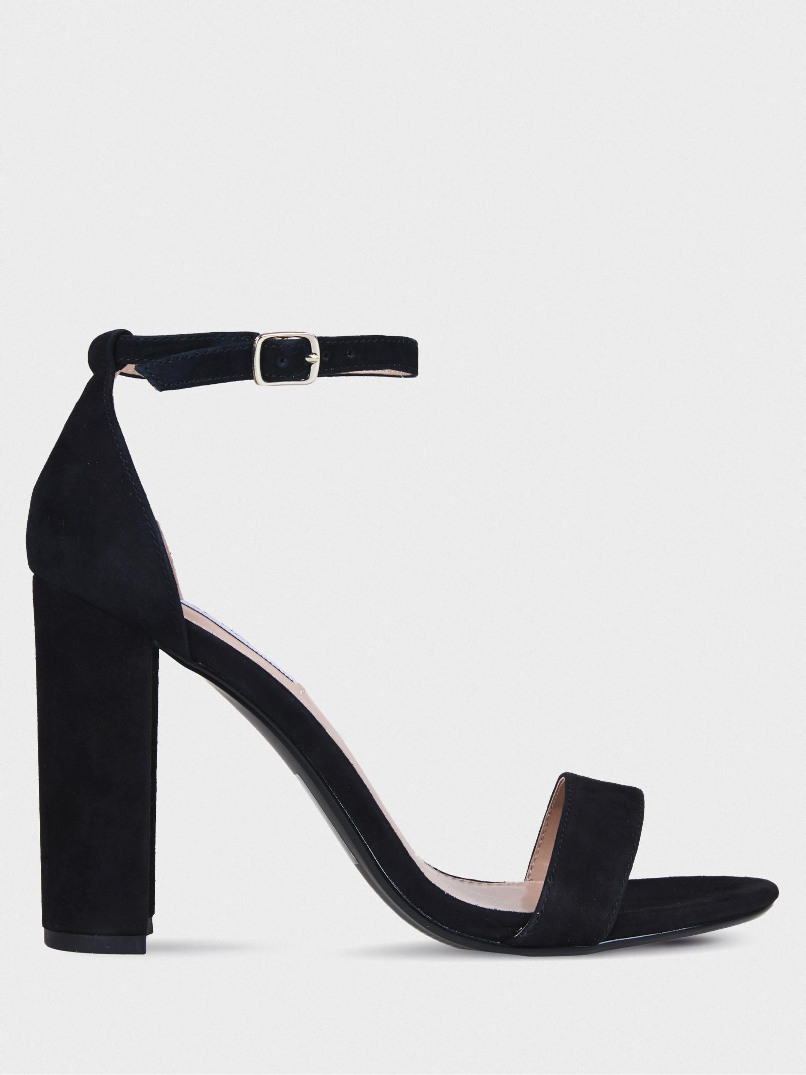 Босоніжки  жіночі Steve Madden SM11000008 BLACK SUEDE купити в Iнтертоп, 2017