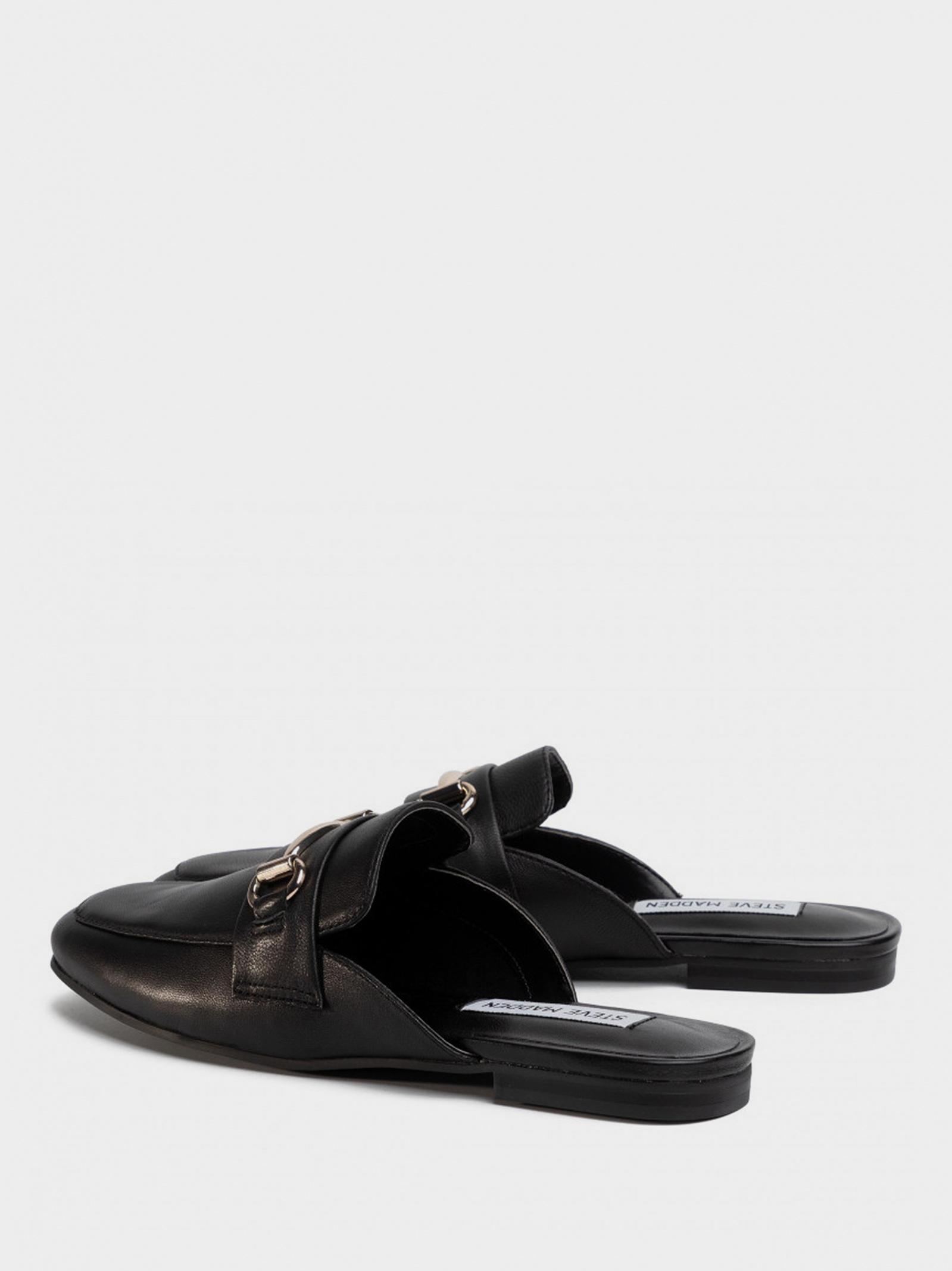 Шльопанці  жіночі Steve Madden KORI SM11000935 BLACK LEATHER брендове взуття, 2017