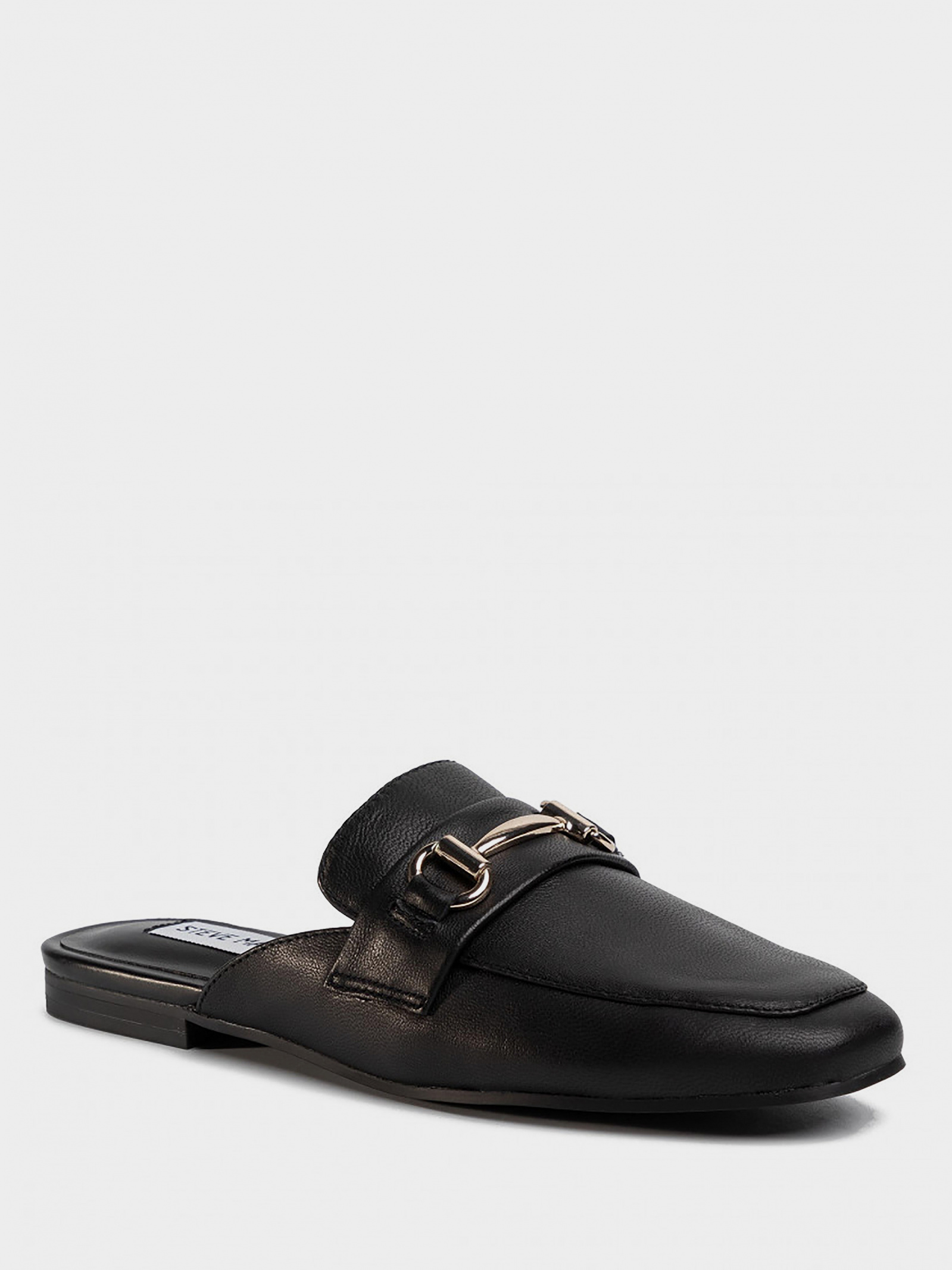 Шльопанці  жіночі Steve Madden SM11000935 BLACK LEATHER розмірна сітка взуття, 2017