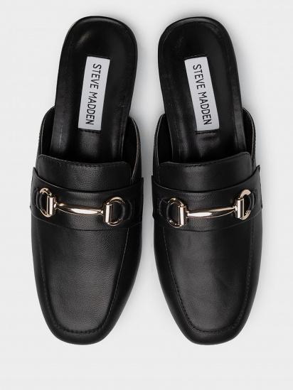 Шльопанці  жіночі Steve Madden SM11000935 BLACK LEATHER продаж, 2017