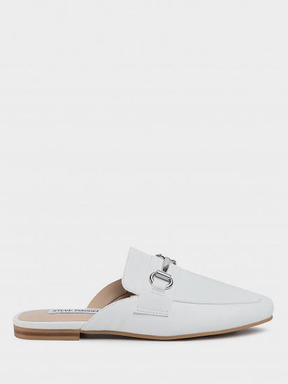 Шльопанці  жіночі Steve Madden SM11000935 WHITE LEATHER модне взуття, 2017