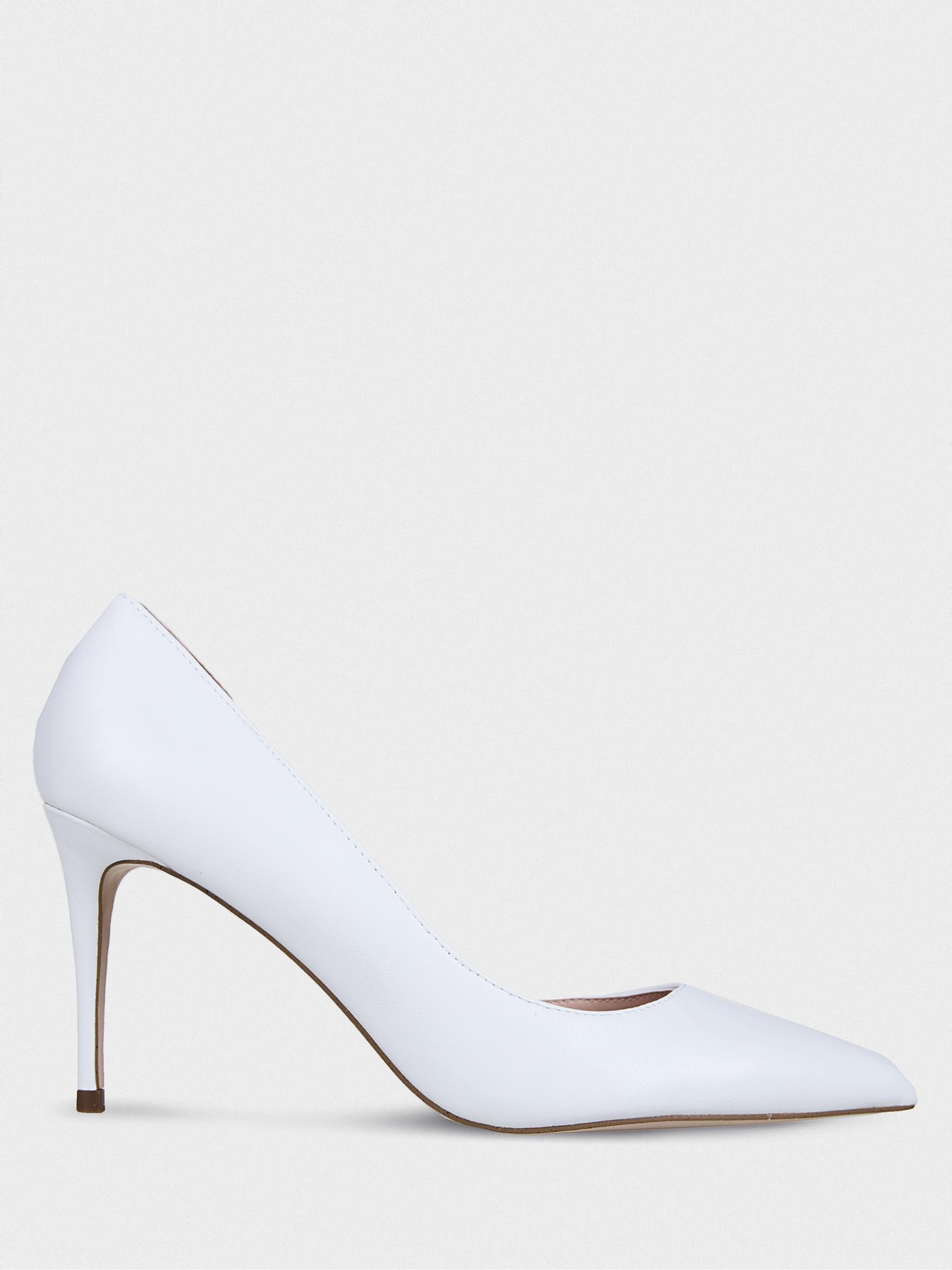 Туфли женские Steve Madden LESSONS SM11000961 WHITE LEATHER размерная сетка обуви, 2017