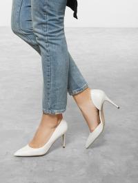 Туфли женские Steve Madden LESSONS SM11000961 WHITE LEATHER примерка, 2017