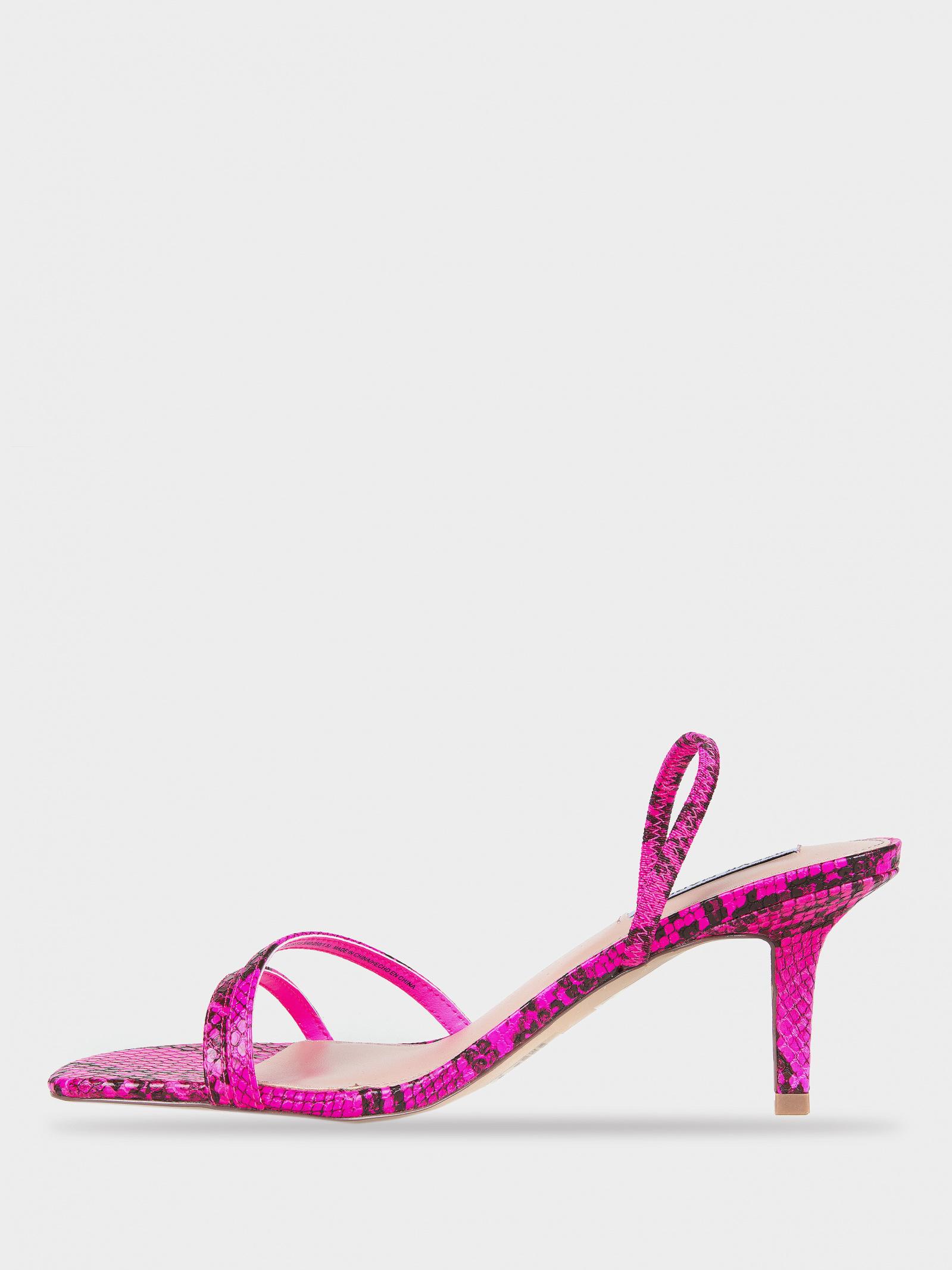 Босоніжки  жіночі Steve Madden SM11000970 PINK SNAKE купити в Iнтертоп, 2017