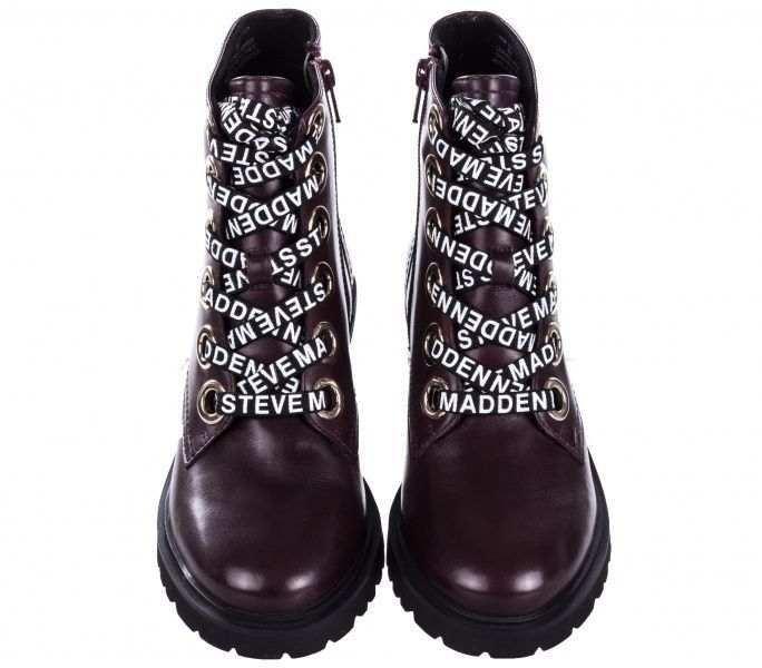 Черевики  для жінок Steve Madden SM11000049 WINE LEATHER розмірна сітка взуття, 2017