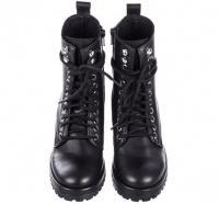 Черевики  для жінок Steve Madden черевики жін. (36-41) SM11000079 BLACK LEATHER ціна, 2017
