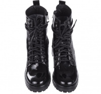 Черевики  для жінок Steve Madden SM11000079 BLACK PATENT розмірна сітка взуття, 2017