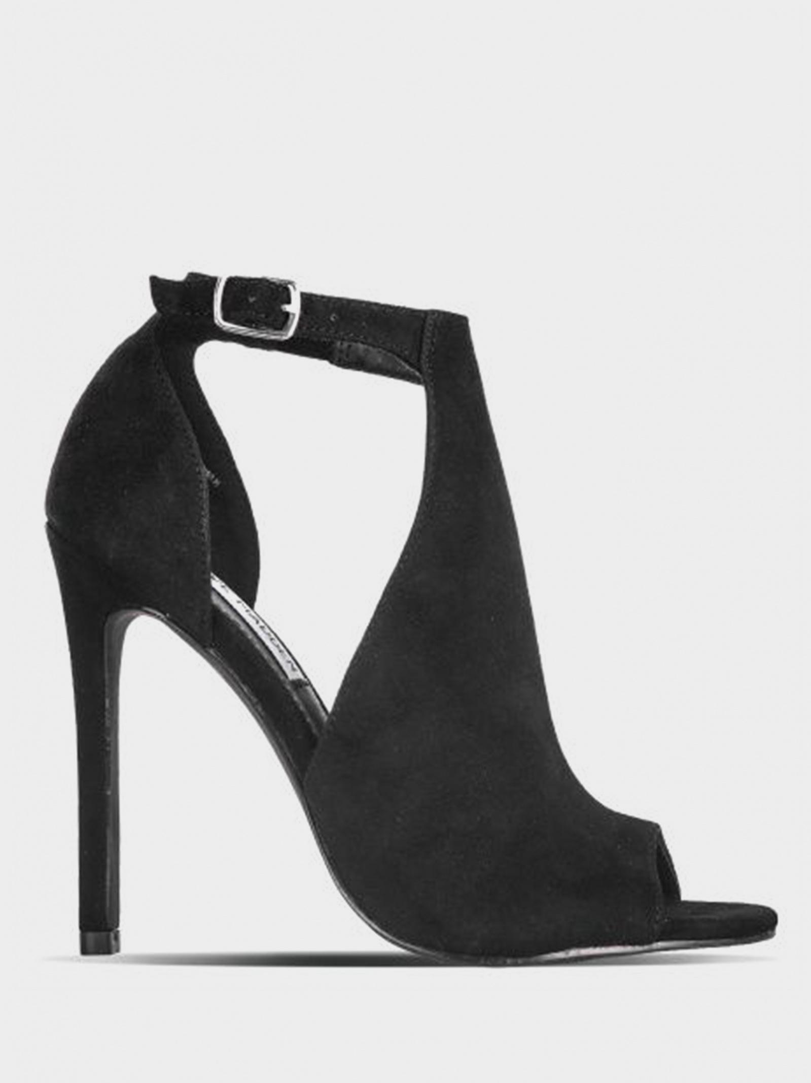 Босоніжки  жіночі Steve Madden SM11000411 BLACK SUEDE SM11000411 BLACK SUEDE модні, 2017