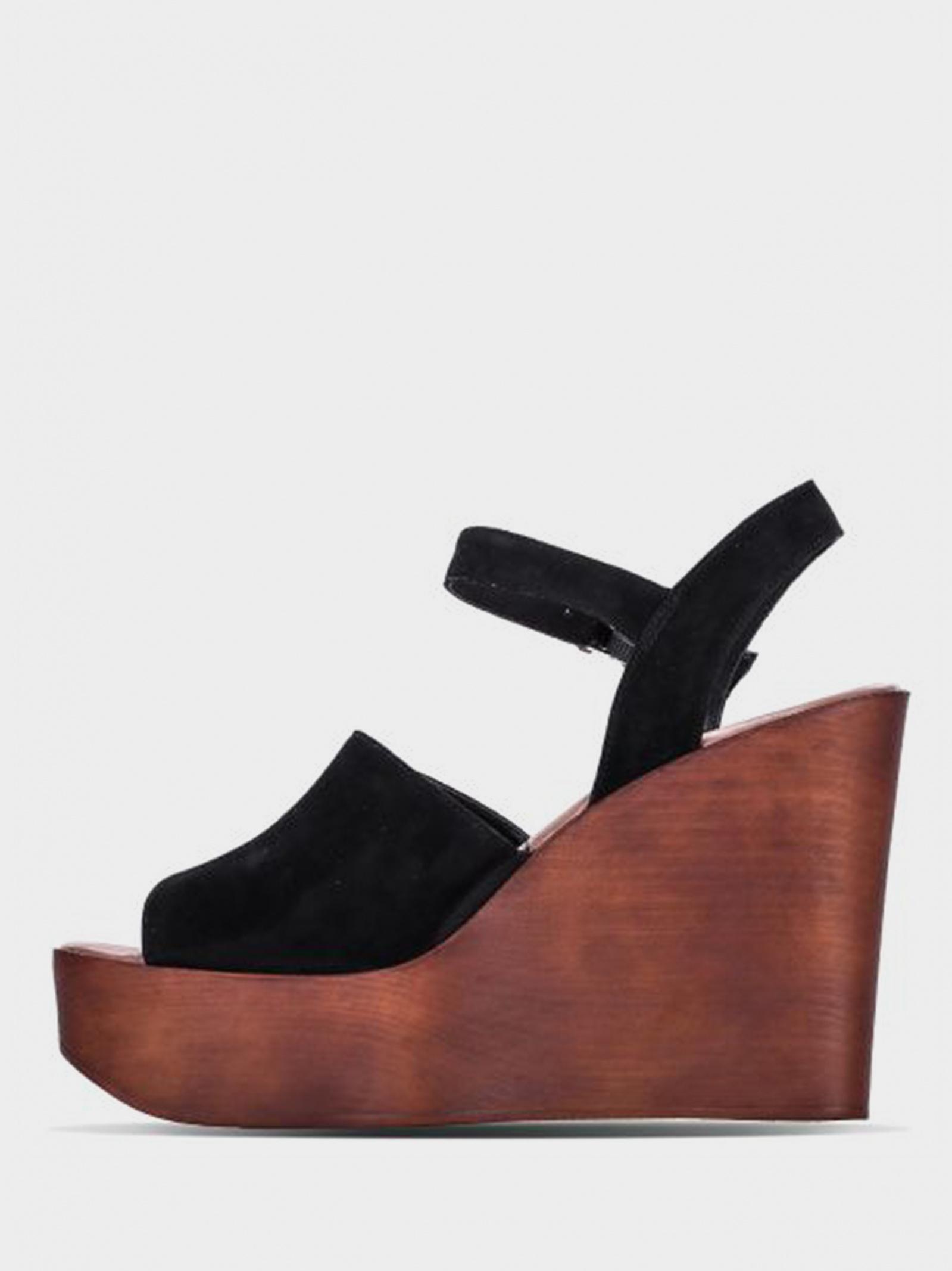 Босоніжки  для жінок Steve Madden BELLINI SM11000432 BLACK SUEDE ціна, 2017