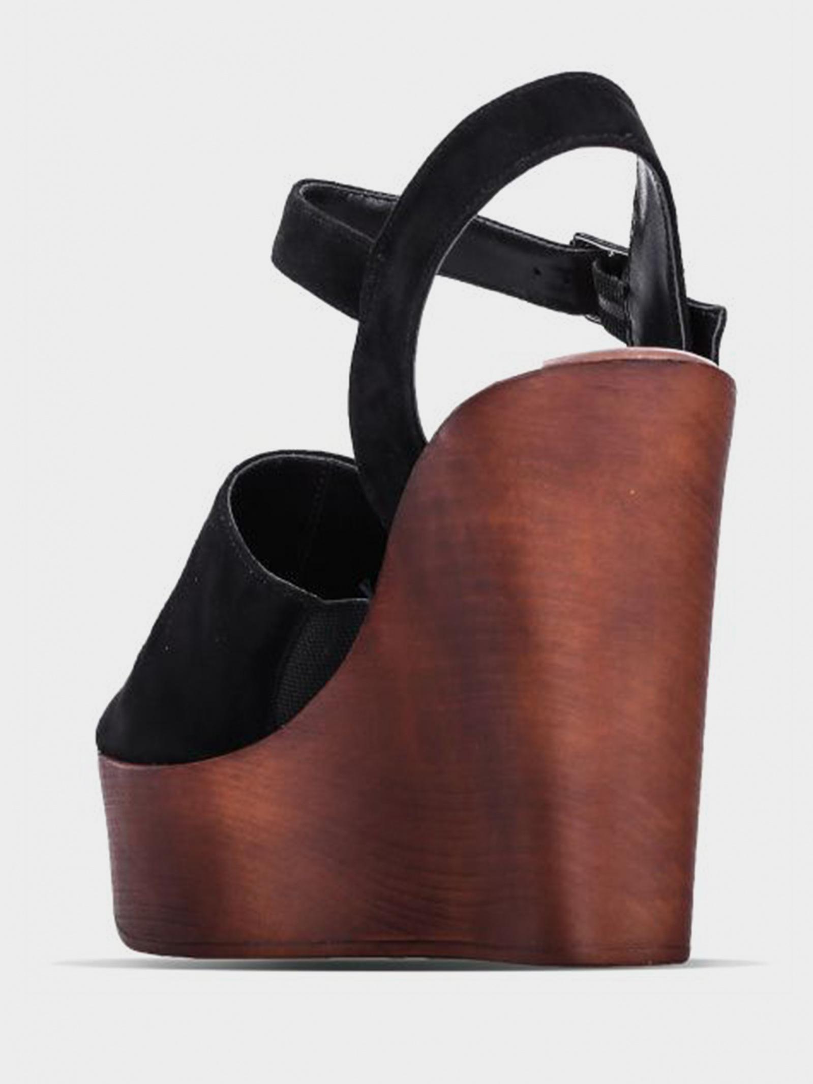 Босоніжки  для жінок Steve Madden BELLINI SM11000432 BLACK SUEDE безкоштовна доставка, 2017