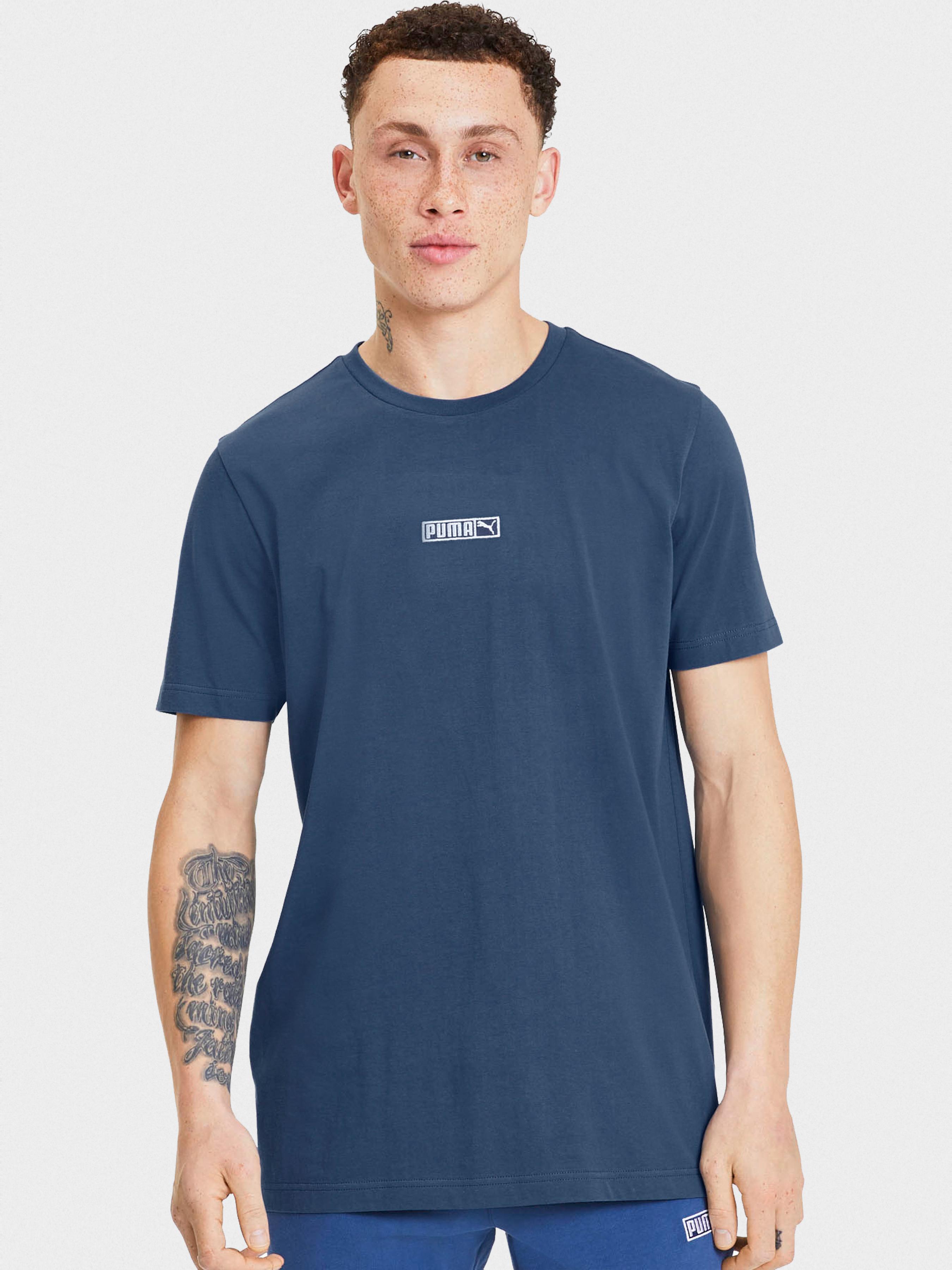 Купить Футболка мужские модель 9Z167, PUMA, Синий