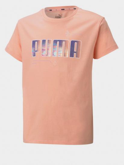 Футболка PUMA Alpha Tee модель 58617026 — фото - INTERTOP