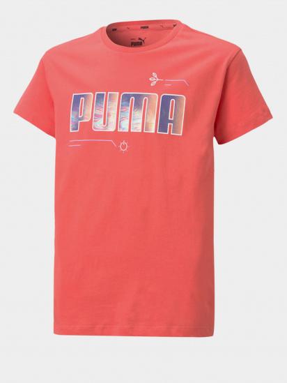 Футболка PUMA Alpha Tee модель 58617042 — фото - INTERTOP