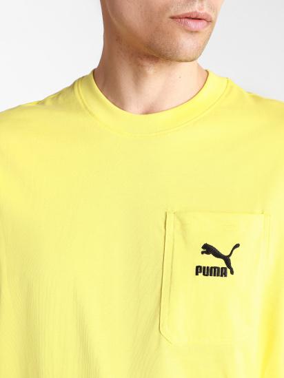 Футболка PUMA Classics Pocket Tee модель 53253538 — фото 3 - INTERTOP