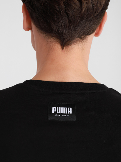 Футболка PUMA ATHLETICS Tee Big Logo модель 58575651 — фото 4 - INTERTOP