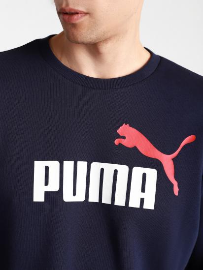 Світшот PUMA ESS+ 2 Col Big Logo модель 58676306 — фото 3 - INTERTOP