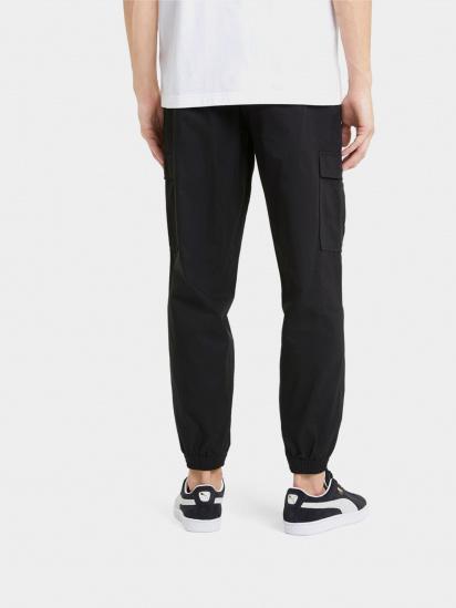 Спортивні штани PUMA Classics Cotton Twill модель 59980501 — фото 2 - INTERTOP