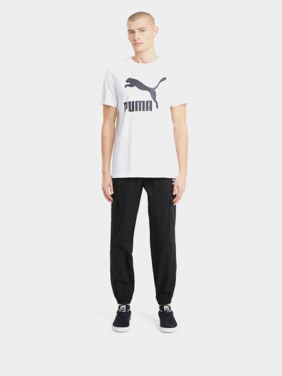 Спортивні штани PUMA Classics Cotton Twill модель 59980501 — фото 3 - INTERTOP