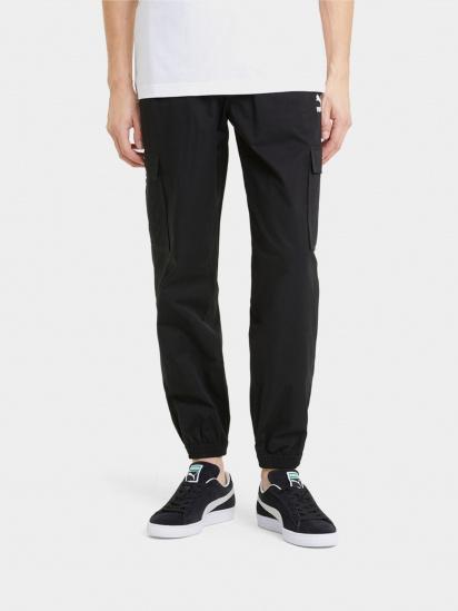 Спортивні штани PUMA Classics Cotton Twill модель 59980501 — фото - INTERTOP