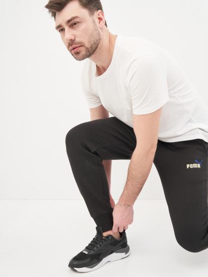 Спортивні штани PUMA ESS+ Embroidery модель 58718701 — фото 4 - INTERTOP