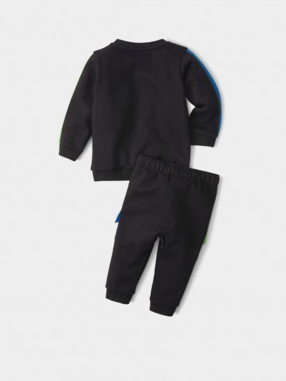 Спортивний костюм PUMA Minicats CLSX Crew Jogger модель 53181601 — фото 2 - INTERTOP