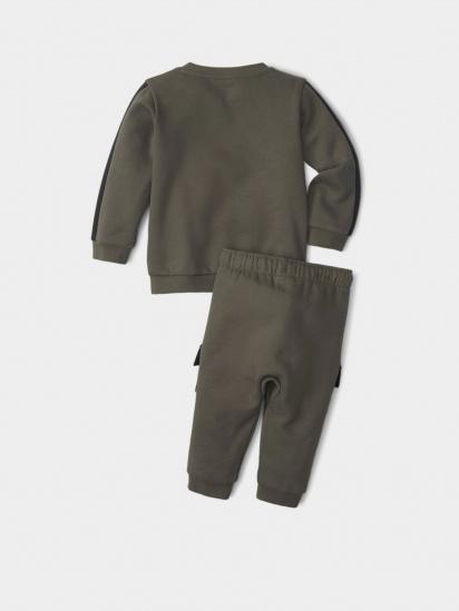 Спортивний костюм PUMA Minicats CLSX Crew Jogger модель 53181644 — фото 2 - INTERTOP