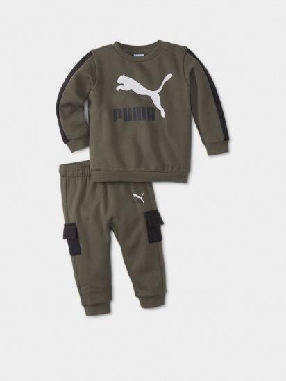 Спортивний костюм PUMA Minicats CLSX Crew Jogger модель 53181644 — фото - INTERTOP