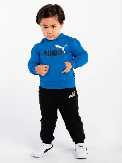 Спортивні штани PUMA ESS Logo Pants FL cl B модель 58697301 — фото 3 - INTERTOP