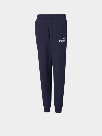 Спортивні штани PUMA ESS Logo Pants модель 58697306 — фото - INTERTOP