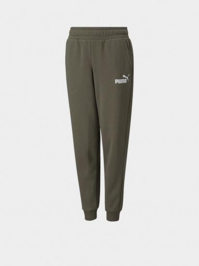 Спортивні штани PUMA ESS Logo Pants FL cl B модель 58697344 — фото - INTERTOP