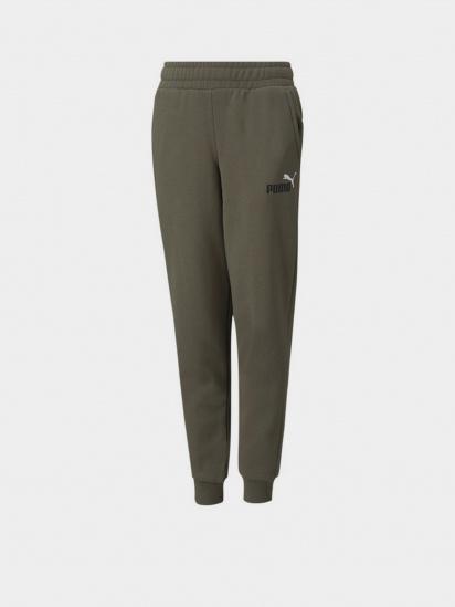 Спортивні штани PUMA ESS+ 2 Col Logo Pants FL cl B модель 58698844 — фото - INTERTOP