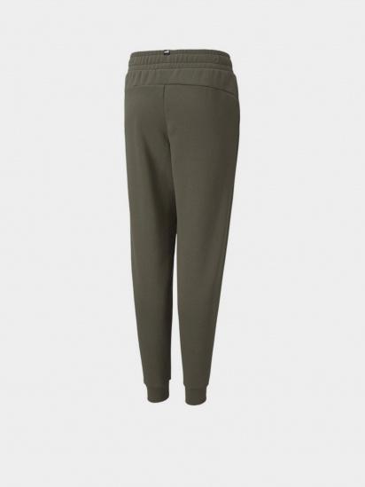 Спортивні штани PUMA ESS+ 2 Col Logo Pants FL cl B модель 58698844 — фото 2 - INTERTOP