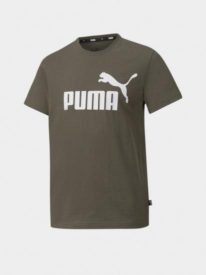 Футболка PUMA ESS Logo Tee B модель 58696044 — фото - INTERTOP