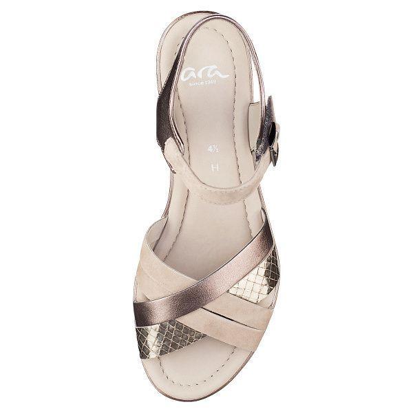 Сандалии женские ARA ALASSIO AA1241 модная обувь, 2017