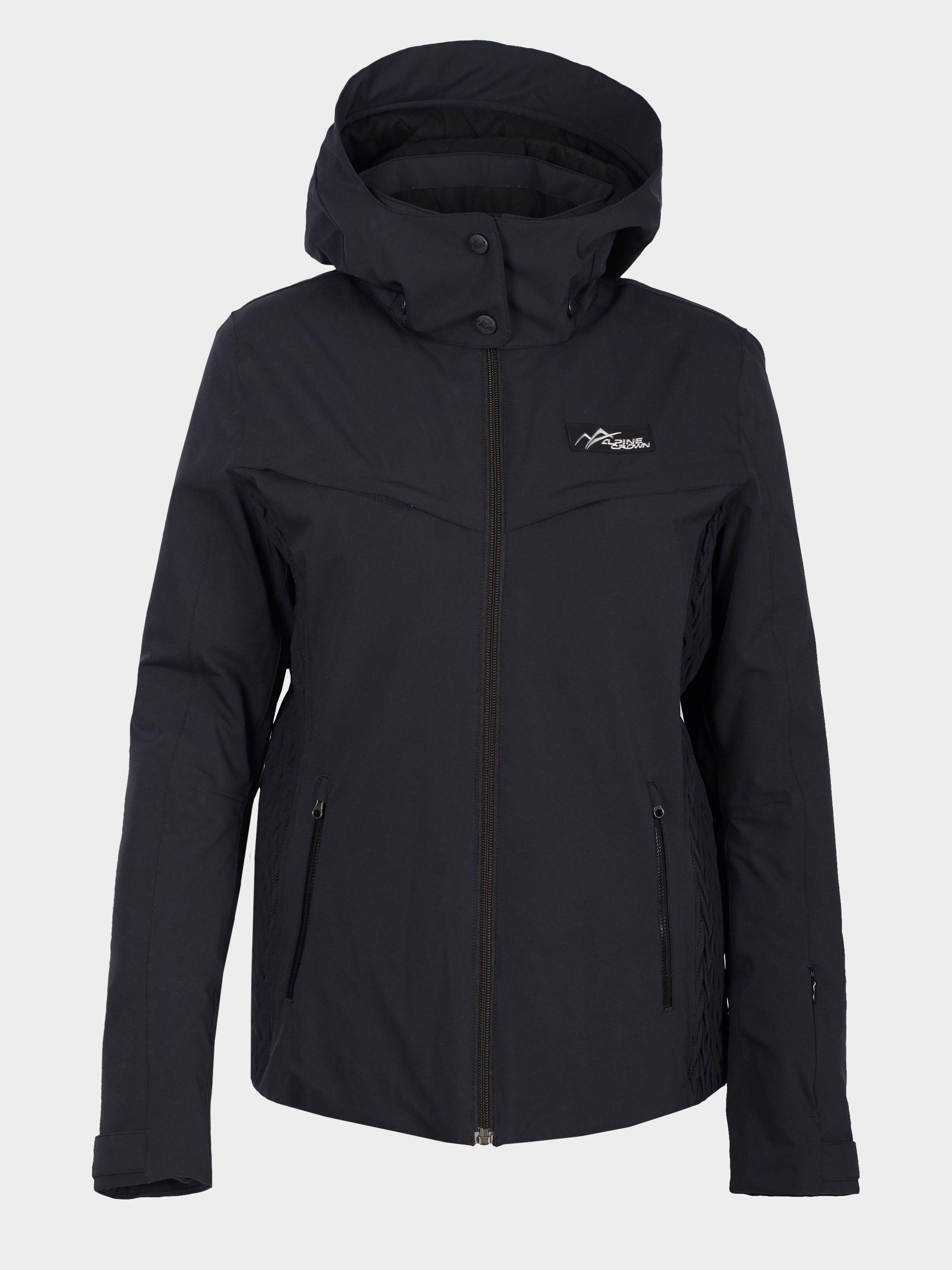 Куртка лыжная женские модель ACSJ-170107-001, Черный  - купить со скидкой