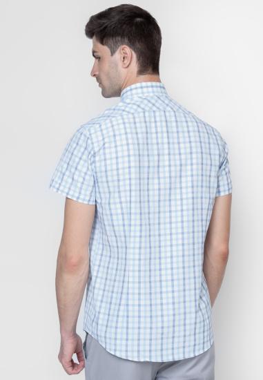 Сорочка з коротким рукавом Arber модель AJ04.12.20 — фото 3 - INTERTOP