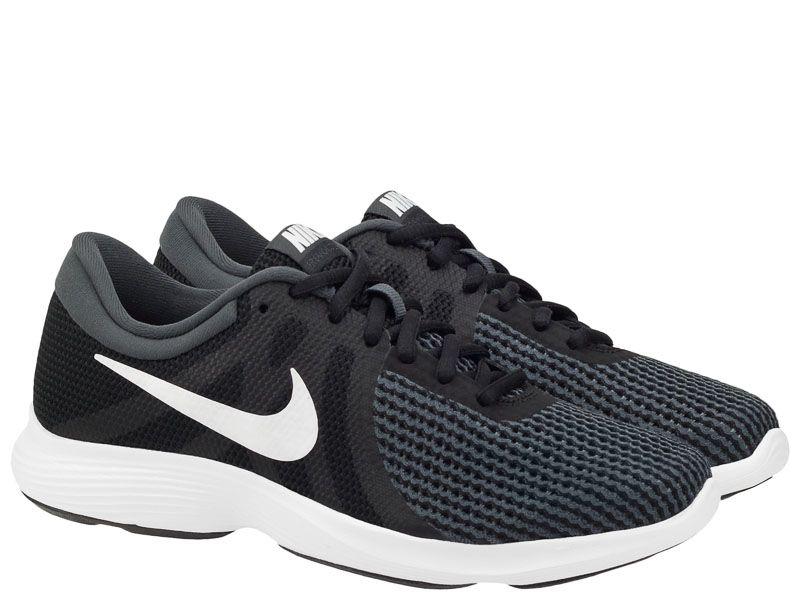Купить Кроссовки мужские Nike Revolution 4 Running Black/White AJ3490-001, Черный