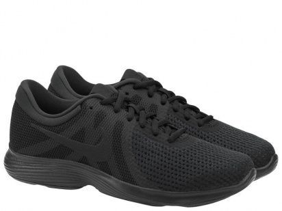 Кроссовки для мужчин Nike Revolution 4 Running Black AJ3490-002 примерка, 2017