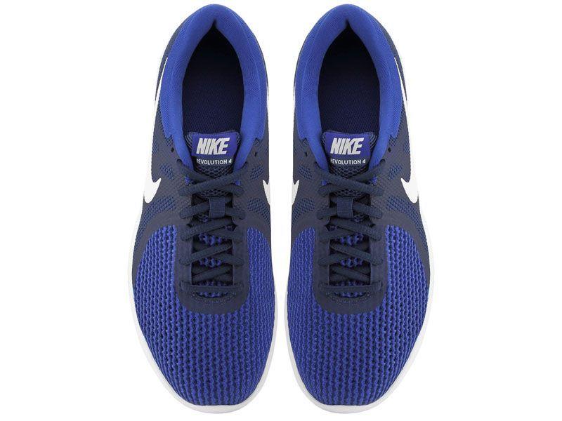 Кроссовки для мужчин Nike Revolution 4 Running Blue AJ3490-414 бесплатная доставка, 2017