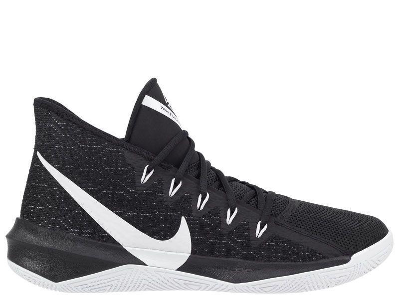 Кроссовки для мужчин Nike Zoom Evidence III Black AS AJ5904-002 примерка, 2017