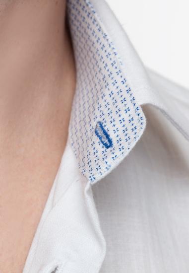 Сорочка з коротким рукавом Arber модель AL04.01.24 — фото 4 - INTERTOP
