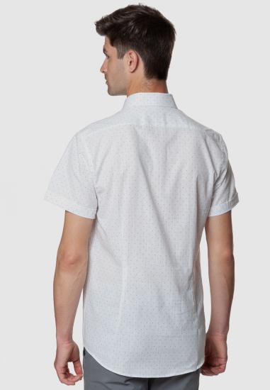 Сорочка з коротким рукавом Arber модель AL04.08.24 — фото 3 - INTERTOP